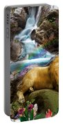 Love Lion Waterfall Portable Battery Charger