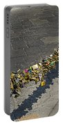 Love Locks - Florence Italy Portable Battery Charger