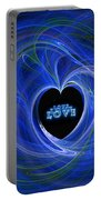 Love - Love - Love Portable Battery Charger