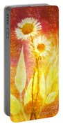 Love Me Tender Gold Portable Battery Charger