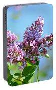 Love My Lilacs Portable Battery Charger