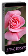 Love Roses Portable Battery Charger