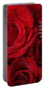 Love Would Never Be A Promise Of A Rose Garden Portable Battery Charger by James BO  Insogna