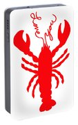 Love You Lobster With Feelers Portable Battery Charger