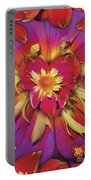 Loveflower Orangered Portable Battery Charger