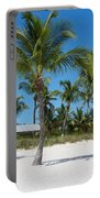 Lovely Beach On Key West East Side Portable Battery Charger