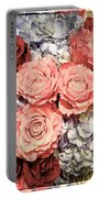 Lovely Flowers Portable Battery Charger