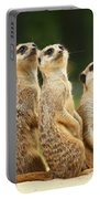 Lovely Group Of Meerkats Portable Battery Charger
