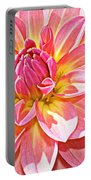 Lovely In Pink - Dahlia Portable Battery Charger