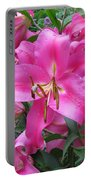 Lovely Lilies  Portable Battery Charger