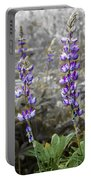 Lovely Lupines Portable Battery Charger