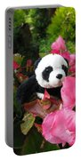 Lovely Pink Flower Portable Battery Charger