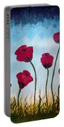 Lovely Poppies Portable Battery Charger