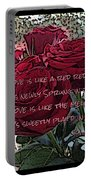 Lover's Roses Portable Battery Charger