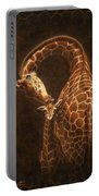 Love's Golden Touch Portable Battery Charger by Crista Forest
