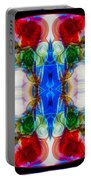 Loving Wisdom Abstract Living Artwork Portable Battery Charger