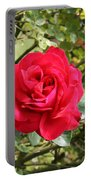 Lovely Red Rose Portable Battery Charger