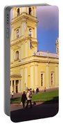 Low Angle View Of A Cathedral, Peter Portable Battery Charger