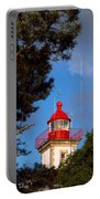 Low Angle View Of A Lighthouse, Morgat Portable Battery Charger