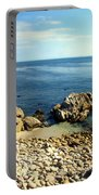 Low Tide At Beautiful Asilomar Beach Portable Battery Charger