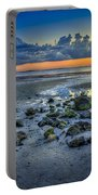Low Tide On The Bay Portable Battery Charger by Marvin Spates