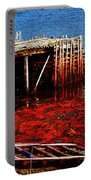 Low Tide - Red Seaweed - Fishing - Moratorium Portable Battery Charger