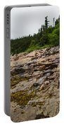Low Tide - Walking On The Bottom Of Saint Lawrence River Portable Battery Charger