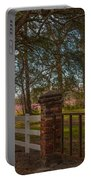 Lowcountry Gates To Boone Hall Plantation Portable Battery Charger