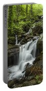 Lower Amicalola Falls Portable Battery Charger by Debra and Dave Vanderlaan