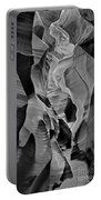 Lower Antelope Glow Black And White Portable Battery Charger