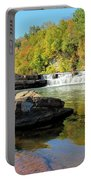 Lower Falls And Stream Portable Battery Charger