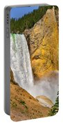 Lower Falls From Uncle Toms Trail Portable Battery Charger