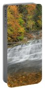 Lower Kent Falls Square Portable Battery Charger