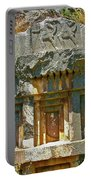 Lower-level Tomb In Myra-turkey Portable Battery Charger