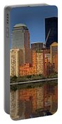 Lower Manhattan Skyline Portable Battery Charger