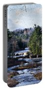 Lower Tahquamenon Falls Michigan Portable Battery Charger