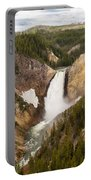 Lower Yellowstone Canyon Falls Portable Battery Charger