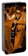 Ls Spo #68 Enhanced In Amber Fisheye Portable Battery Charger