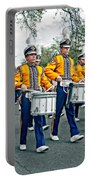 Lsu Marching Band Portable Battery Charger by Steve Harrington