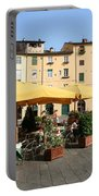 Lucca Piazza Del Mercato  Portable Battery Charger