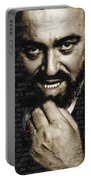 Luciano Pavarotti Portable Battery Charger
