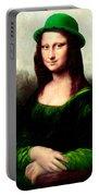 Lucky Mona Lisa Portable Battery Charger