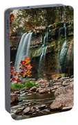 Ludlowville Falls Portable Battery Charger