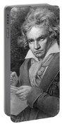 Ludwig Van Beethoven Portable Battery Charger
