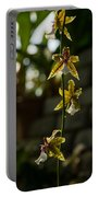 Luminous Chain Of Orchids Portable Battery Charger