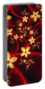 Luminous Fantasy Flowers Portable Battery Charger
