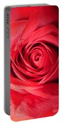 Luminous Red Rose 7 Portable Battery Charger