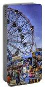 Luna Park 2013 - Coney Island - Brooklyn - New York Portable Battery Charger