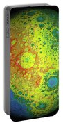 Lunar Topography Globe Portable Battery Charger