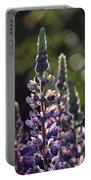 Lupine At The Gate Portable Battery Charger